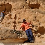 Esplorazione di alcune nicchie rupestri