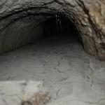 Il tunnel sotterraneo scavato nella roccia