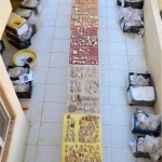 Our collection of pottery samples