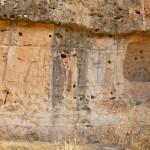 Uno dei rilievi rupestri di Maltai